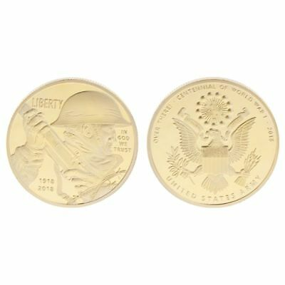 Commemorative Coin United States Army Liberty 1918-2018 100 Years Anniversary