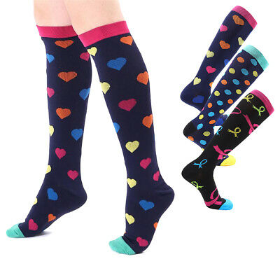 3 Pairs Compression Socks For BEST Athletic & Medical for Men & Women Running