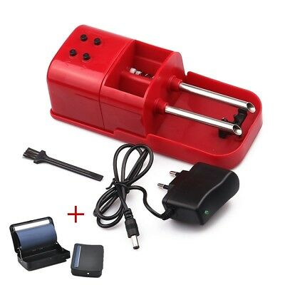 Electric Automatic Cigarette Injector Rolling Machine Tobacco Maker Roller+Box