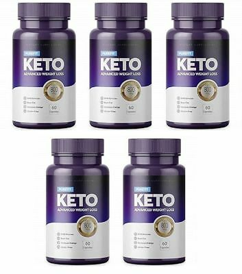 PUREFIT KETO ADVANCED WEIGHT LOSS 5X (60 Capsules) FREE SHIPPING WORLDWIDE