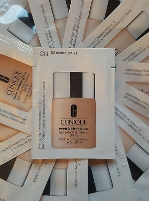CLINIQUE - Even Better Glow™ .Makeup SPF 15   foundation (52 neutral) 30ml total