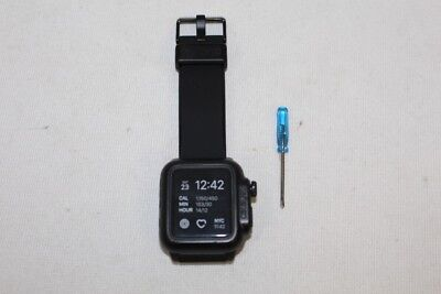 Catalyst Band & Case for Apple Watch 42mm Series 2 & 3 Black w/ Screwdriver