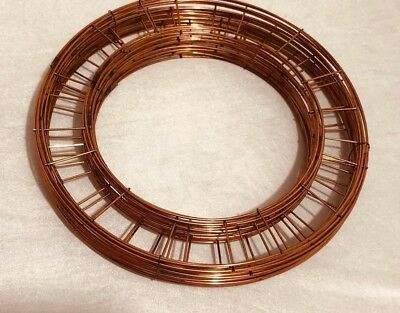 "Wreath Flat Wire Rings 8"" 10"" 12"" 14"" 16"" Christmas Mossing Ring Craft flower"