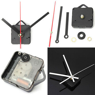 Wall Quiet Mute Hand Quartz Clock Movement Mechanism DIY Repair Tool Parts Kit#