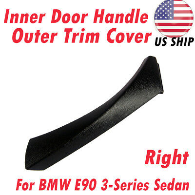 51419150336 Right Inner Door Panel Handle Trim Cover For BMW E90 3-Series 04-12