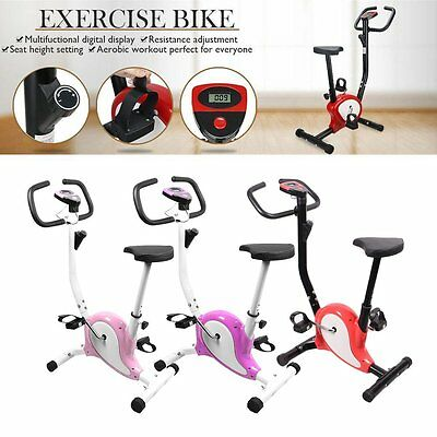Aerobic Exercise Training Bike Cardio Workout Seat Adjustable Resistance Fitness