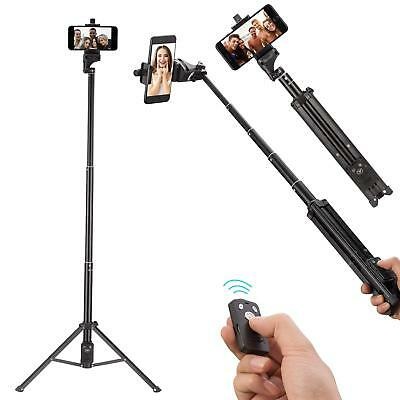 Ottertooth Mobile Selfie Stick Tripod Stand 137 cm Extendable Wireless Remote AU