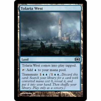 WEST OF TOLARIA WEST FUTURE SIGHT CARD MAGIC MTG VF