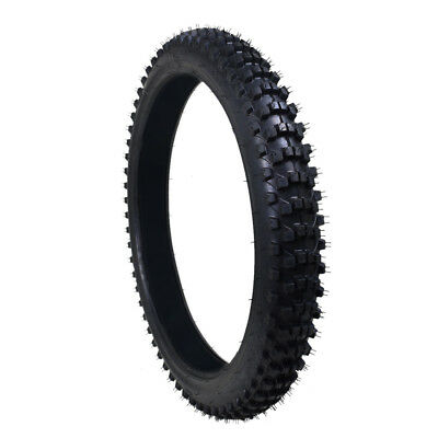"21 inch knobby front tyre with tube 80/100-21 dirt bike pit bike CRF 21"" new"