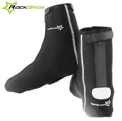 Pro RockBros Cycling Shoe Covers Warm Cover Rain Waterproof Protector Overshoes