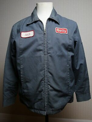 Vintage GETTY Jacket Collectors Item Made in the USA