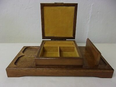 Vintage Willitts Exclusive Mens Womens Dresser Caddy Jewelry Box Tray NICE