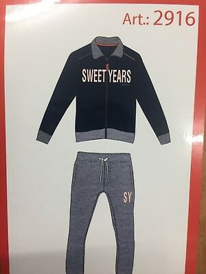 Pigiama Uomo Sweet Years tipo Tuta Felpato Full Zip Art. 2916