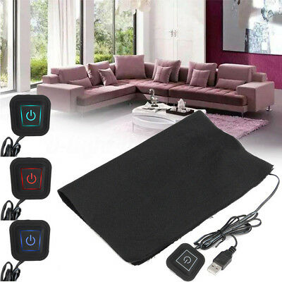 24*30CM 5V USB Electric Cloth Heater Sheet Pad Heating Element Pet Warmer