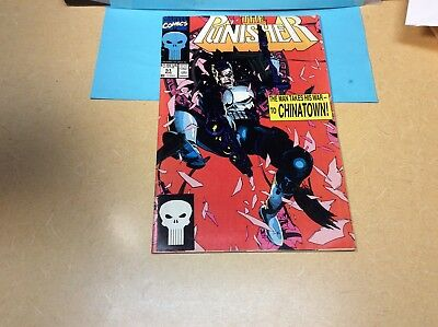 The Punisher, # 51 Aug The Man Takes His War To Chinatown Marvel Comics M/NM
