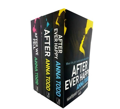 The After Series Anna Todd 3 Books set collection After We Fell Paper back NEW