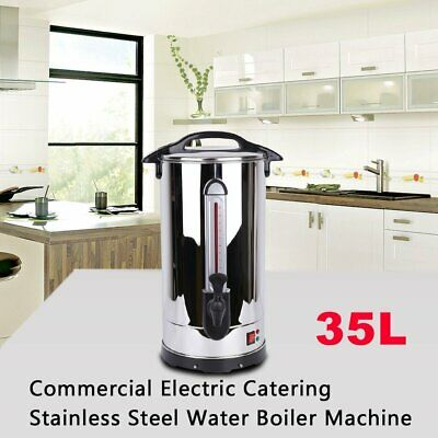 NEW! 35L Commercial Catering Kitchen Hot Water Boiler Tea Urn Coffee