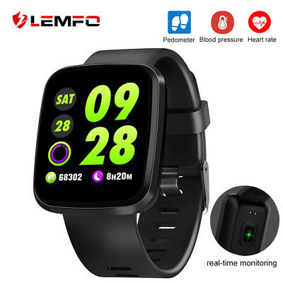 Lemfo Sport3 reloj inteligente bluetooth Impermeable Podómetro For Xiaomi iPhone