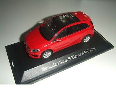 Mercedes Benz W 246 B Class Facelift 2015 Jupiter Red 1:43 New OVP