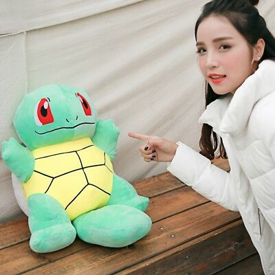 "23"" Lovely Stuffed Soft Plush Toys Doll figure Gift Squirtle Pokemon Christmas"