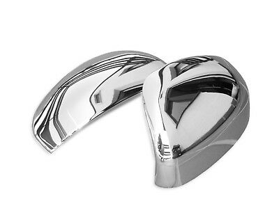 Toyota Avensis 2009-2015 Wing Side Mirror Covers Right & Left Chrome