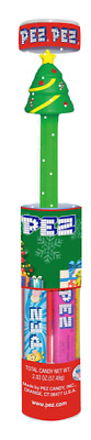 2018 Pez Dispenser ~~Christmas Tree~Mint in Tube with Candy