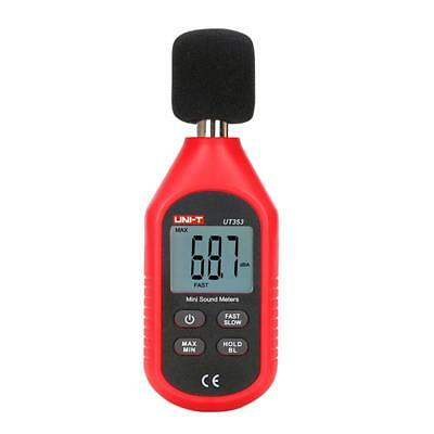 UNI-T UT353 BT Digital Sound Level Meter 30-130dB Noise Freq Test