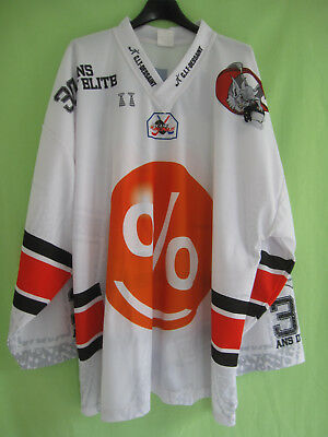 Maillot Hockey Gothiques Amiens #41 Cafpi Picardie Jersey Vintage - XL
