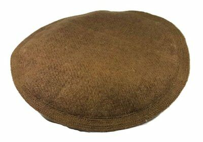 Afghani Warm Hat Tribal Pakul Army Winter Pakol Cap KUFI Brown