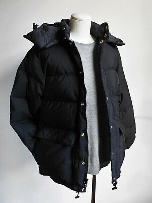 Crescent Down Works Classico Parka Mans XL Black 100% Authentic Made in USA