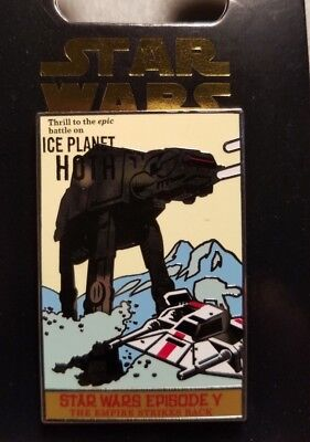 Disney STAR WARS EPISODE V - ICE PLANET HOTH - POSTER SERIES - New Trading Pin