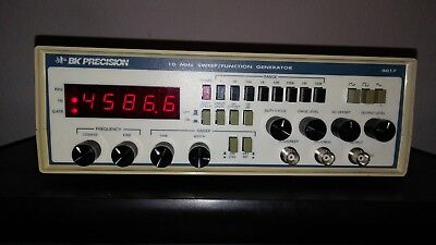 BK Precision 4017 10 MHz Sweep / Function Generator with cable connector