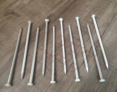 "Gutter Nails New 7"" Aluminum  for [5""] K Gutter  Made in USA  [Qty. of 10]"