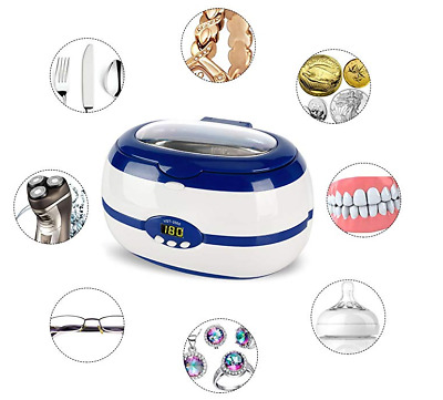 Best Jewelry Cleaner Electric Machine Ultrasonic Silver Gold Polish Coin Watch