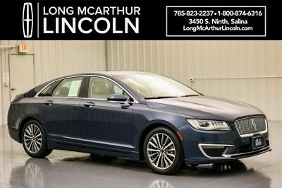 2017 Lincoln MKZ/Zephyr SELECT FWD 2.0 6 SPEED AUTOMATIC SEDAN LINCOLN DRIVE CONTROL HEATED FRONT LEATHER SEATS 18 INCH WHEELS