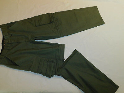 Boy Scout Switchback Pants Convertible Zip Off Shorts Uniform Bsa Olive Boy's 12