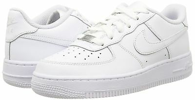 "NEW Youth Nike Air Force 1 Low ""Triple White"" (GS) 314192-117 Uptown AF1"