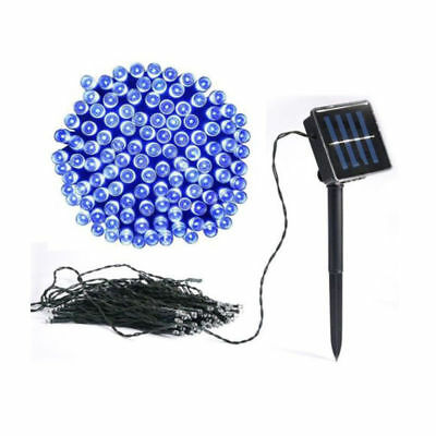 Solar Powered 50/100/200 LED String Fairy Light Copper Wire Xmas Party Garden UK