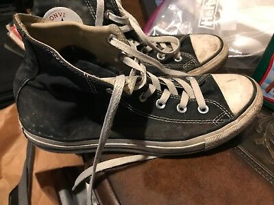 1e6dd3843b Classic Converse All Star Chuck Taylor M9160 Old School Black Men 6 Women 8