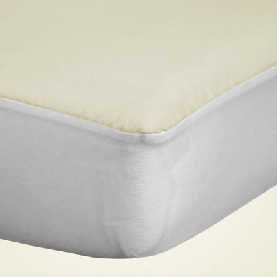 NEW Baby Sealy Organic Cotton Crib Mattress Pad Allergy Protection Waterproof
