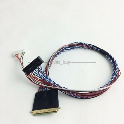 40pin single 6 LVDS cable LP140WH1 screen cable LVDS (1 ch, 6-bit) , 40 pins