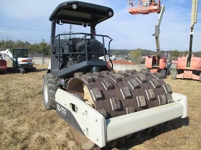 Ingersoll Rand Sd77F Single Padfoot Roller, Hydrostatic, 99 Hp Diesel, 746 Hours