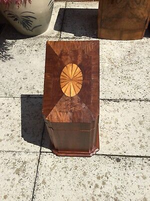 Beautiful Edwardian Inlaid Chef Knife Stationary Storage Box In Lovely Condition