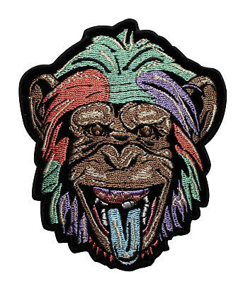 937efd87e Monkey Party Animal Embroidered Iron On Patch - Biker Motorcycle 045-I