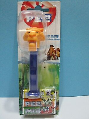 PEZ Candy & Dispenser Ice Age dawn of the Dinosaurus  Diego   OVP (1)