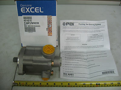 Power Steering Pump RH Rotation for International Excel# 451421E Ref# 1663204C91