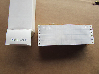 (2) Omega RD100-ZFP Graph Paper NEW!!! in Box Free Shipping