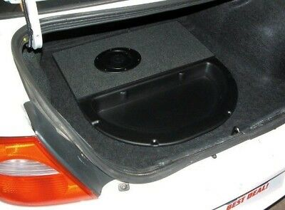 "Q-Logic Custom Subwoofer Box Dodge NEON 2000-2005 Unloaded 10"" Enclosure"