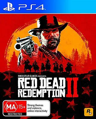 Rockstar Red Dead Redemption 2 II PlayStation 4 PS4 GAME BRAND NEW FREE POSTAGE