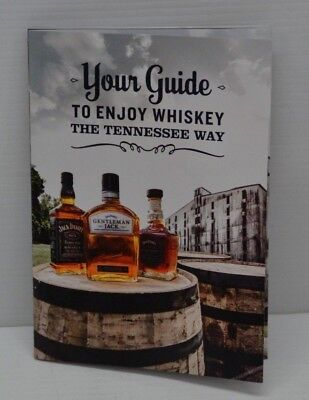 Jack Daniel's Tennessee Whiskey Collectible Brand New Recipes Pamphlet